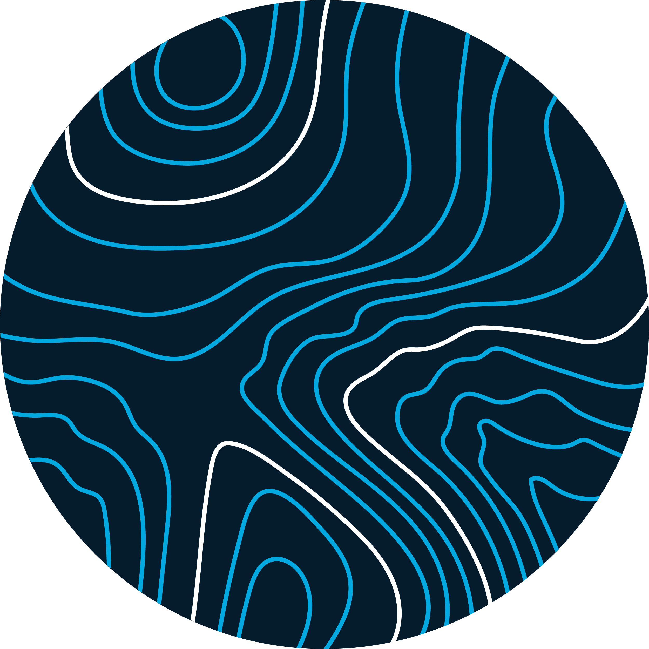 topography black and blue